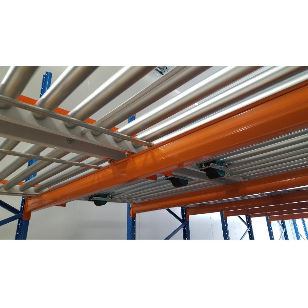 flow rack rollers