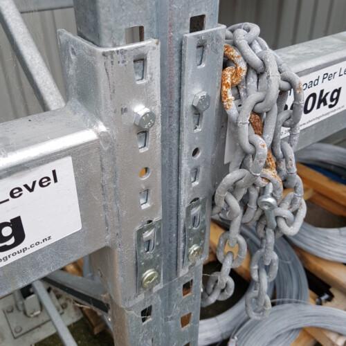 galvanised racks