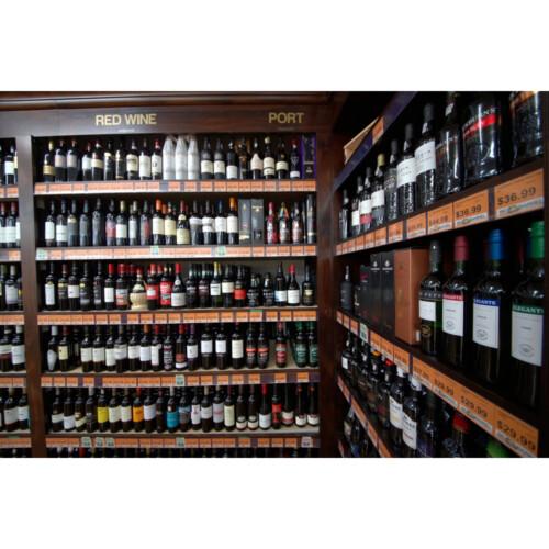 liquor shelves for store display