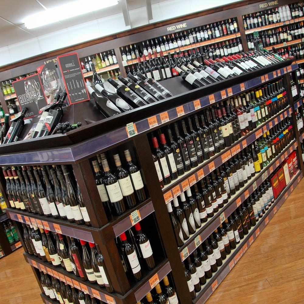 Liquor Shelving