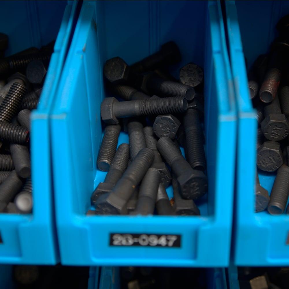 plastic parts boxes