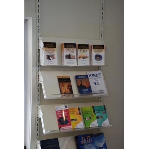 Wall Mounted Library Shelving