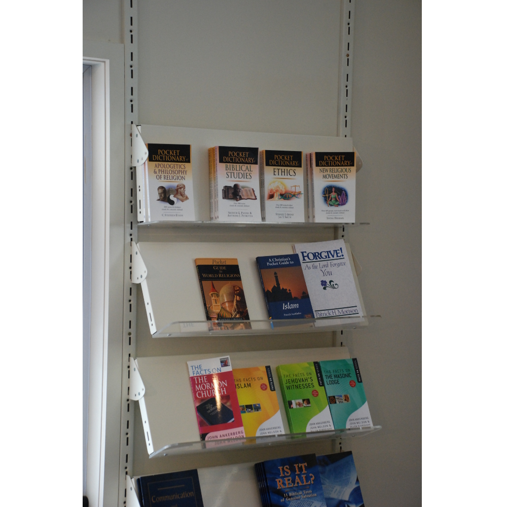 Wall Mounted Library Shelving