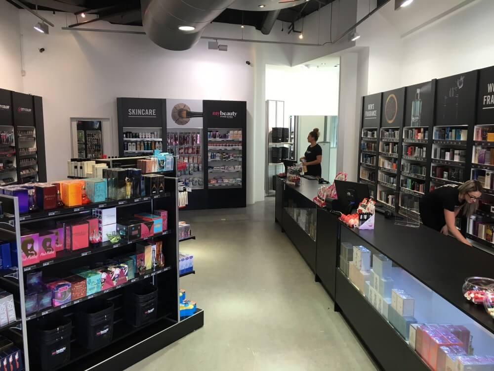 organized store layout