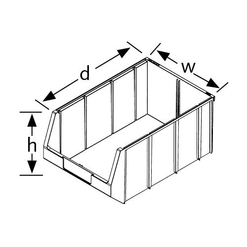Plastic Parts Boxes 1