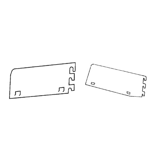 Blades for Steel Shelving