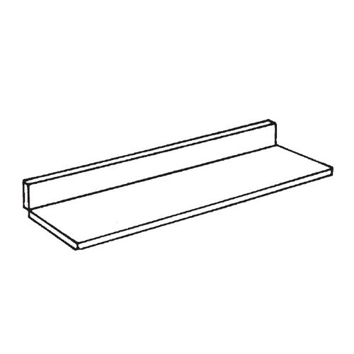 High Back Shelves