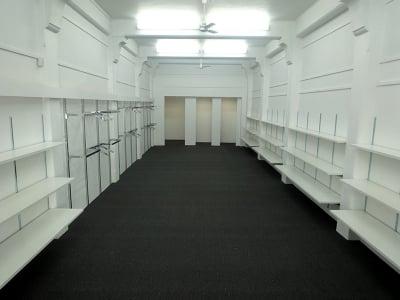Empty Wall Mounted Shelves